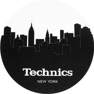 Slipmats Technics Skyline N.Y. Twin pack