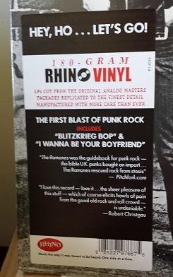 Ramones-Ramones / Rhino Records