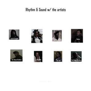 Rhythm & Sound-w/ the artists LP / Burial Mix