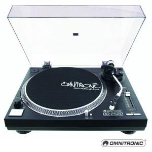 Omnitronic Turntable DD-2520 USB