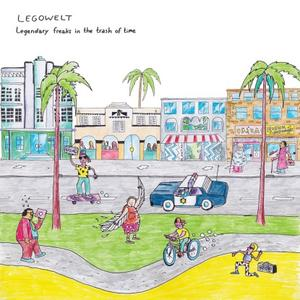 Legowelt-Legendary Freaks In The Trash Of Time / Clone West Coast Series
