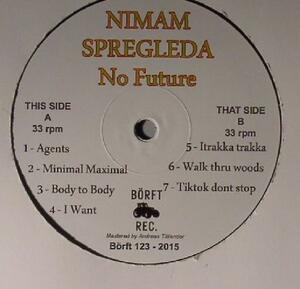 Nimam Spregleda-No Future / Börft