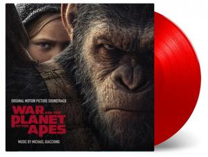 OST-War for the Planet of the Apes (Limited red vinyl) / Music On Vinyl