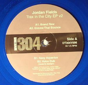 Jordan Fields-Trax In The City Ep V2 / Downtown 304