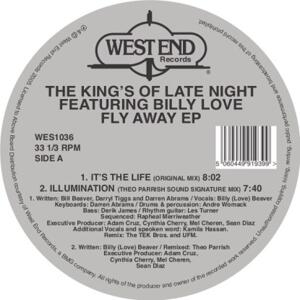 Kings Of Latenight/ Billy Love-Fly Away Ep/ Theo Parrish Rmx/West End Blue