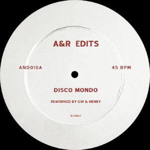Greg Wilson & Henry - Disco Mondo/ In The City / A&R Edits