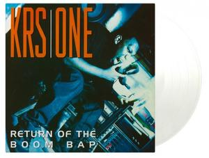 KRS-One-Return of the Boom Bap (Limited clear vinyl) / Music On Vinyl