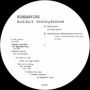 Karl Bult - Sliding Windows / Nordanvind Records