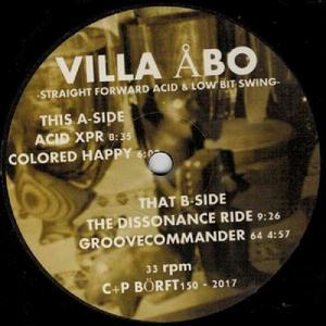 Villa Abo-Straight Forward Acid & Low Bit Swing / Borft