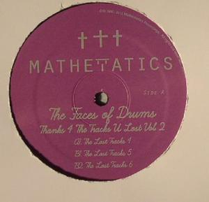 "Faces Of Drums Aka S. Poindexter & Jamal ""Thanks 4 The Tracks Vol.2 / Mathematics"