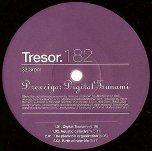 Drexciya-Digital Tsunami / Tresor