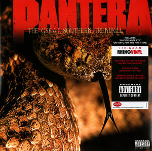 Pantera-The Great Southern Trendkill /  Rhino Vinyl