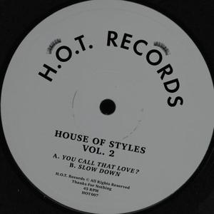 House Of Styles-Vol. 2 / H.o.t. Records