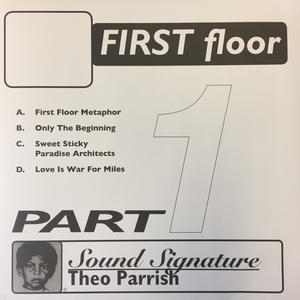 Theo Parrish-First Floor Pt.1 / PEACEFROG
