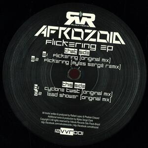 Afrozoid-Flickering Ep / Valvula Records