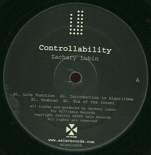 Zachary Lubin-Controllability / 6277 / Axis