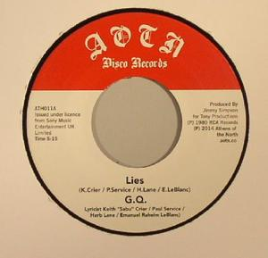 GQ-Lies / Is It Cool? / ATHENS OF THE NORTH