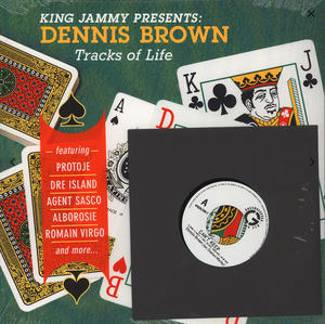 King Jammy Presents Dennis Brown-Tracks Of Life / Greensleeves Records